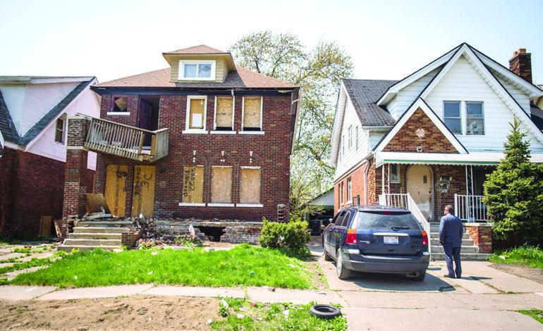 ارتفاع قيمة المنازل في ديترويت لأول مرة منذ ١٥ عاماً