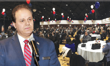 سام بيضون يطلق حملته الانتخابية لعضوية مجلس مفوضي مقاطعة وين في حفل حاشد بديربورن