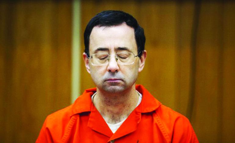 حكم إضافي بالسجن 125 سنة  على الطبيب المتحرش
