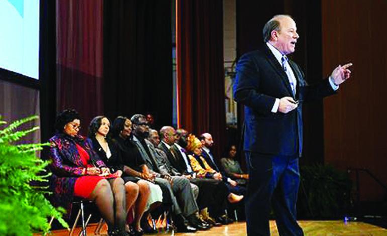 داغن في خطاب حال المدينة: الأولوية للنهوض بالمدارس العامة