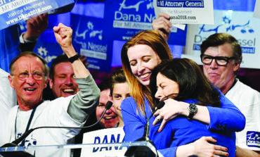 الديمقراطيون يرشحون دانا نسل لمنصب المدعي العام  في ميشيغن .. وجوسلين بنسون لسكرتاريا الولاية