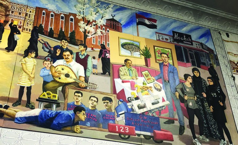متحف هامترامك التاريخي يكشف عن جدارية تعكس التنوع العرقي والثقافي في المدينة
