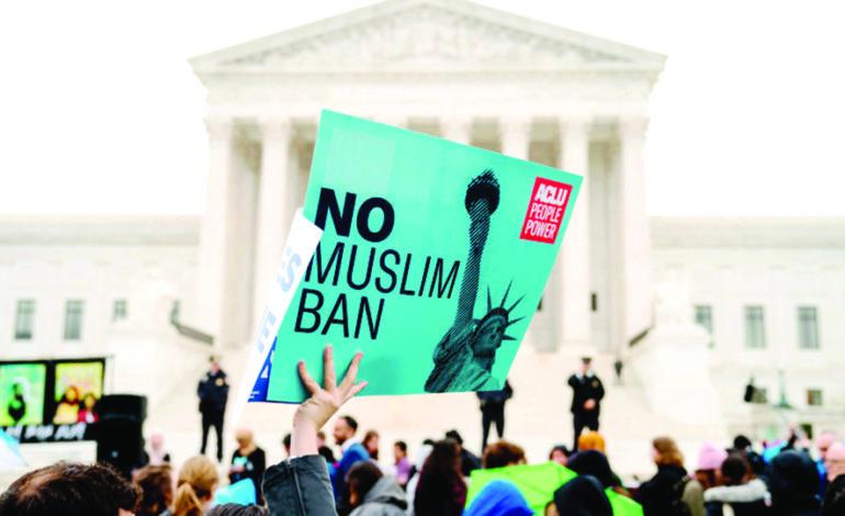 تداعيات «حظر المسلمين»