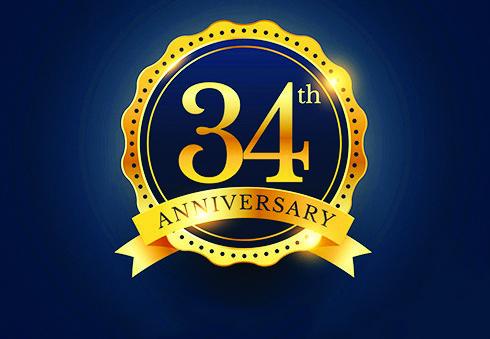 34 عاماً .. معكم!