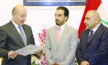 العراق ينهي جموداً سياسياً وينتخب قيادة جديدة