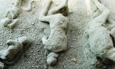 هكذا فتك بركان فيزوف بضحاياه قبل نحو ألفي عام!