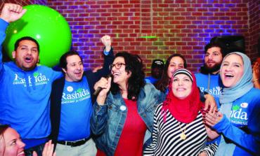 الفلسطينية الأميركية رشيدة طليب تدخل التاريخ كأول مشرّعة مسلمة في الكونغرس