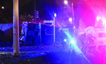 اصطدام سيارتي شرطة وإسعاف في ديترويت .. والحصيلة خمسة جرحى