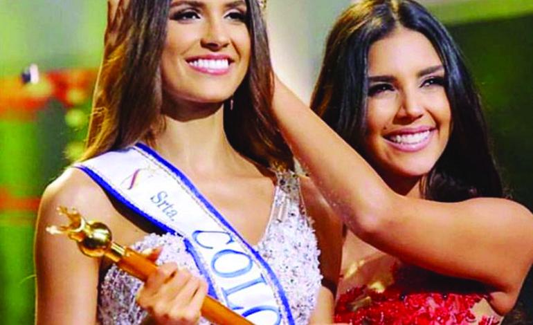 حسناء لبنانية على عرش الجمال الكولومبي