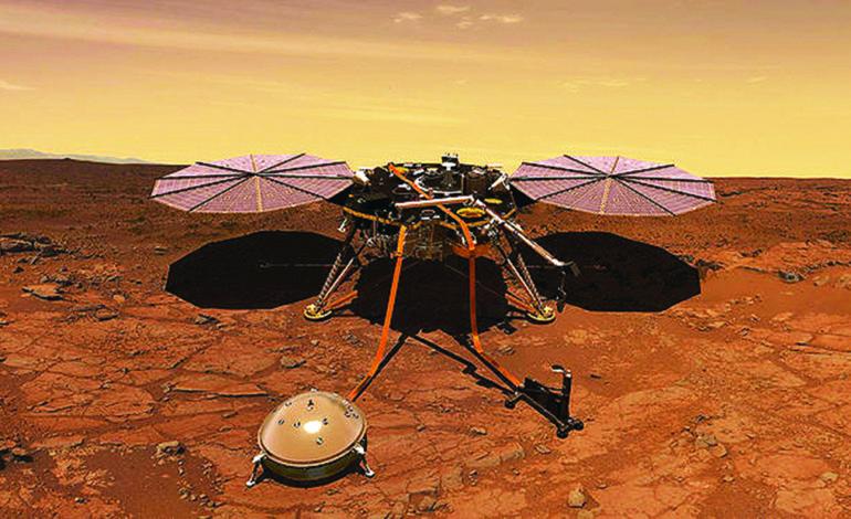 «ناسا» تهبط على سطح المريخ