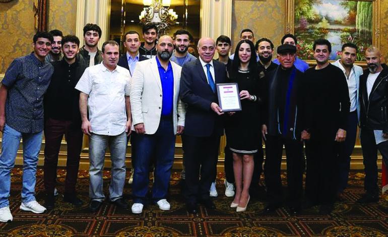 قنصلية لبنان في ديترويت تكرّم فريق الجالية لكرة القدم