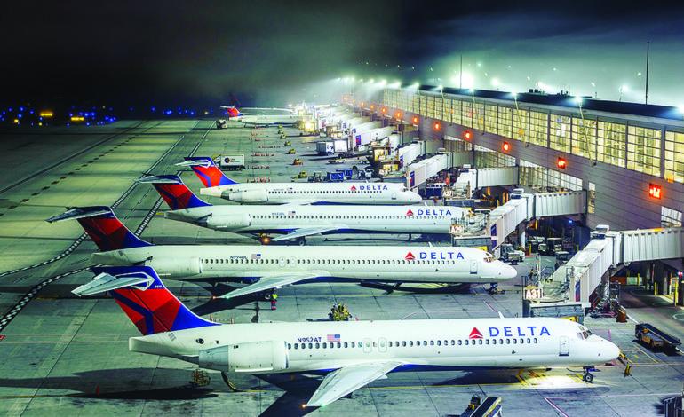 مطار ديترويت يسجل أكبر عدد من المسافرين منذ الأزمة الاقتصادية
