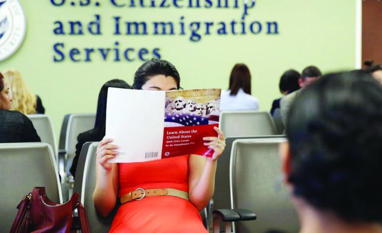 ثلثا المواطنين في ميشيغن فشلوا في اجتياز امتحان الجنسية الأميركية