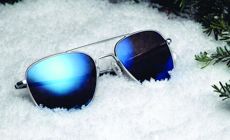 النظارة الشمسية مهمة أكثر في الشتاء!