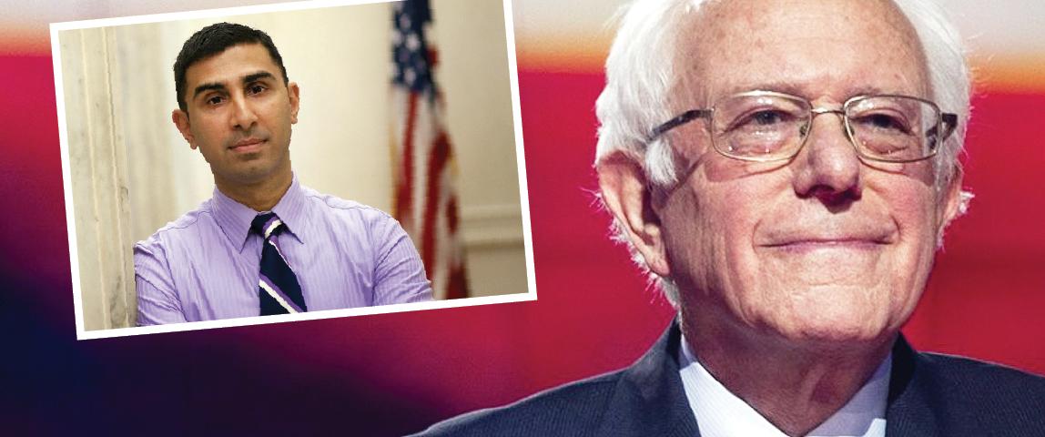 السناتور ساندرز يخوض سباق الرئاسة 2020 .. ويعيّن مسلماً أميركياً لإدارة حملته