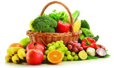عليكم بالخضروات والفواكه كل يوم