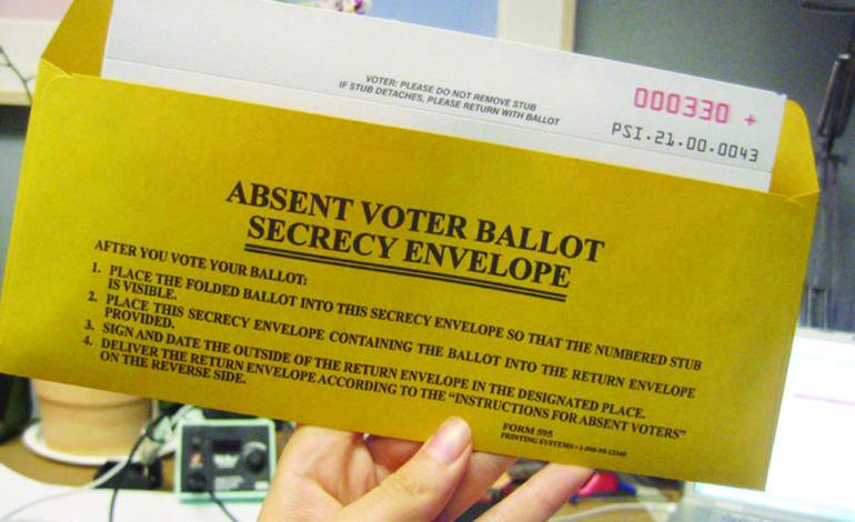 ميشيغن تجيز الاقتراع الغيابي من دون مبرر لجميع الناخبين