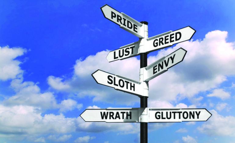 ميشيغن والخطايا السبع: غضب وغيرة وكسل
