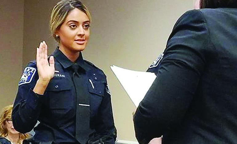 زهراء الحوراني .. أول عربية أميركية في شرطة لاثروب فيليدج