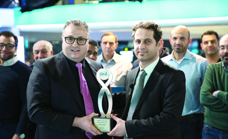 «صدى الوطن» تمنح جائزة «القيادة والتطوير»  لمدير عام «التلفزيون العربي» عباس ناصر