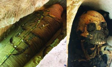 بالصور: اكتشافات أثرية جديدة في مصر تعود لآلاف السنين