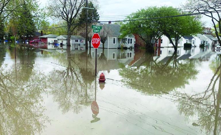 آلاف المتضررين من فيضانات ديربورن هايتس بانتظار المساعدات المحلية والفدرالية