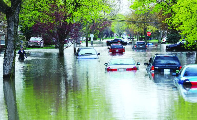 «وكالة إدارة الطوارئ الفدرالية» تبدأ بتقييم أضرار فيضانات الربيع بمقاطعة وين