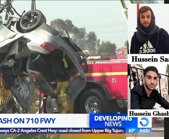 مصرع أربعة شباب من يارون في حادث سير مروع في كاليفورنيا