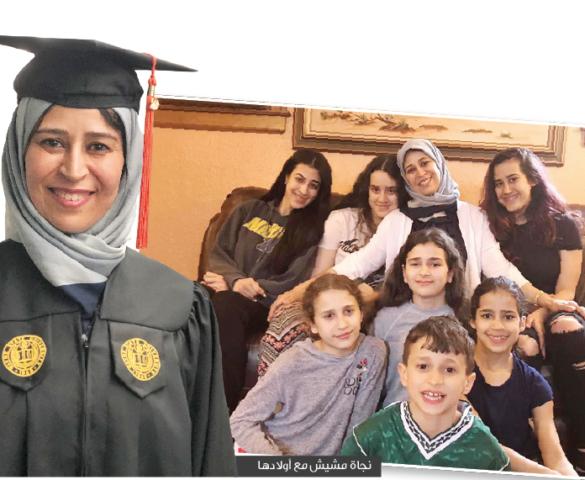 أم لثمانية أبناء من ديربورن تتخرج من كلية الهندسة بـ«جامعة وين ستايت»