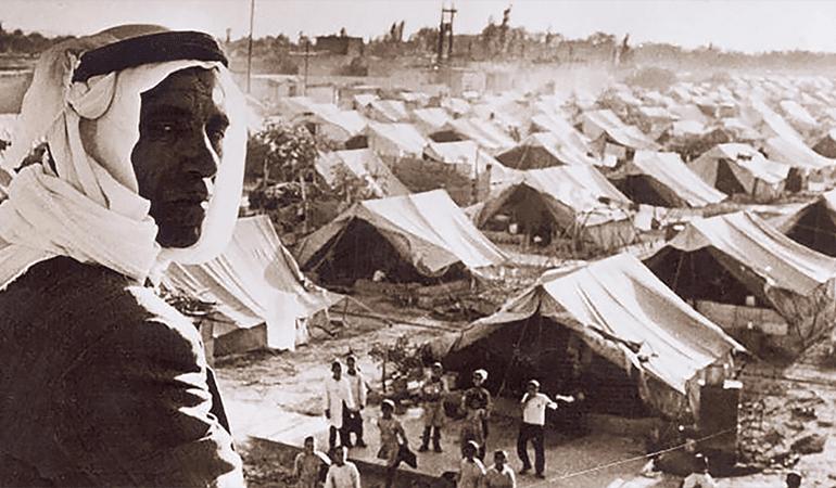 عدد الفلسطينيين يتضاعف تسع مرات منذ النكبة