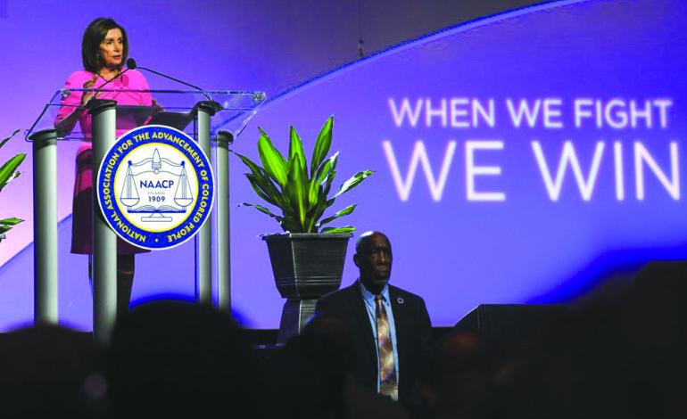 مؤتمر NAACP يتحول إلى مهرجان خطابي للديمقراطيين في ديترويت: فلنهزم عنصرية ترامب!