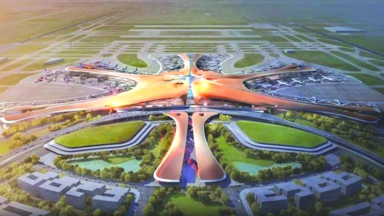 الصين تستعد لتدشين أكبر مطار في العالم!