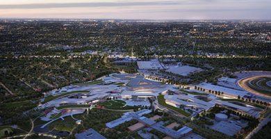 «فورد» تكشف عن خطتها لإعادة بناء مركزها الرئيسي للأبحاث والتطوير في ديربورن