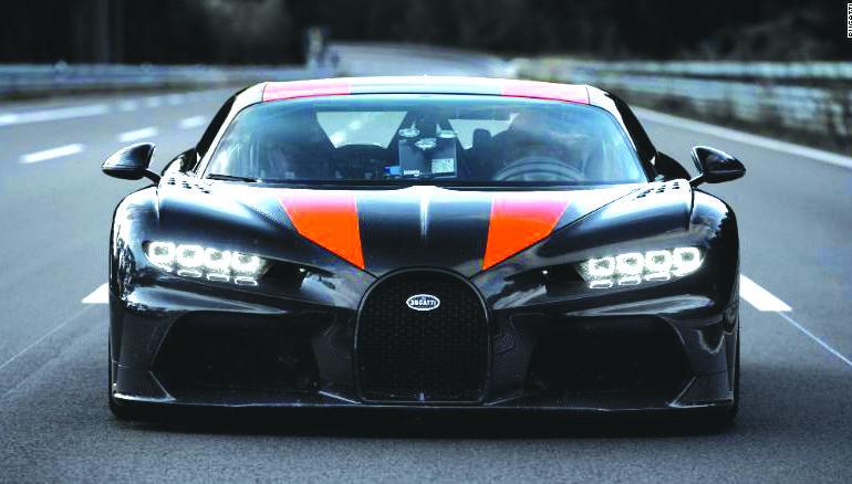 «بوغاتي» تكشفعن السيارة الأسرع في الأسواق!