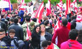 ديربورن تتظاهر تضامناً مع الانتفاضة الشعبية في لبنان
