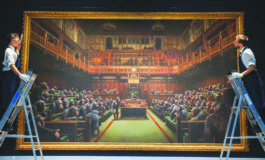 لوحة لـ«بانكسي» تباع بأكثر من 12 مليون دولار