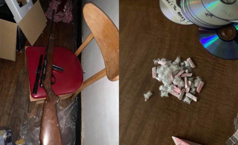 شرطة مقاطعة وين تداهم وكراً لبيع المخدرات على حدود ديربورن