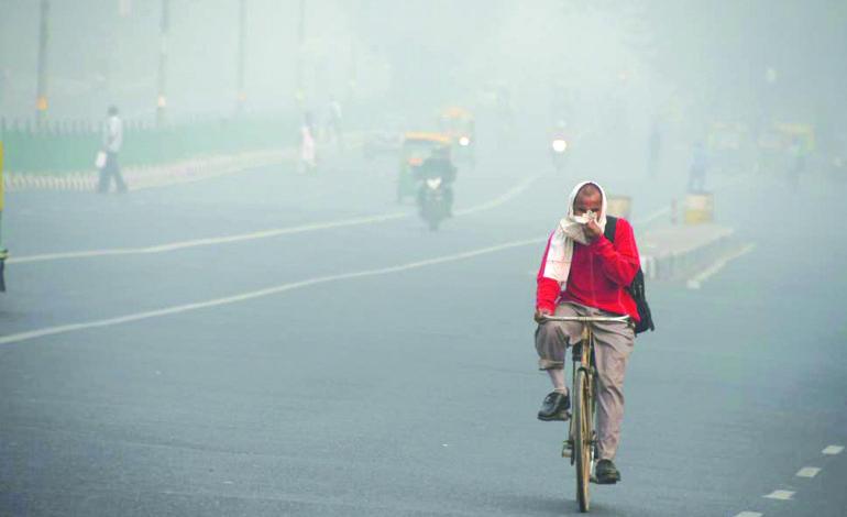 المدينة الأكثر تلوثاً في العالم .. تختنق بدخان المفرقعات