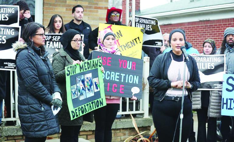 وقفة تضامنية تناشد سلطات الهجرة الأميركية بعدم ترحيل مهاجر لبناني لأسباب إنسانية