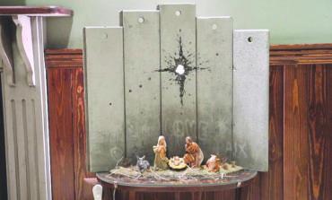 «ندبة بيت لحم» للفنان بانكسي:  الميلاد بروح فلسطينية