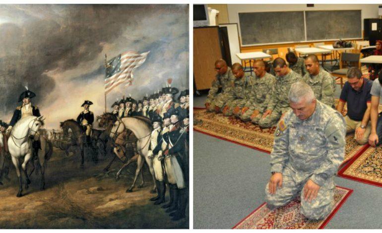 معلومات عن المسلمين  في الجيش الأميركي