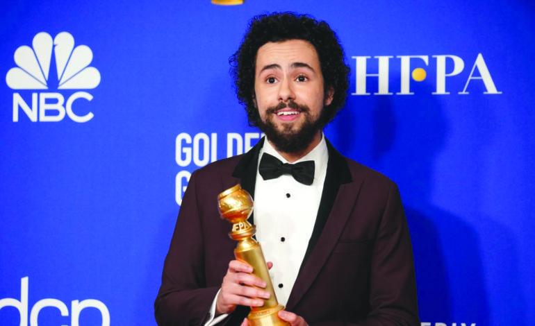رامي يوسف يحصد جائزة «غولدن غلوب»  لأفضل ممثل كوميدي في مسلسل تلفزيوني