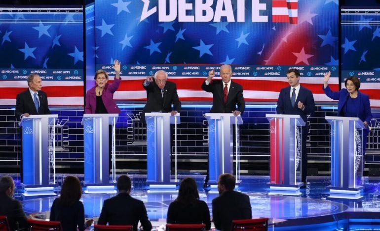 بلومبرغ يجذب الأنظار والانتقادات في أول مناظرة مع المرشحين الديمقراطيين للرئاسة