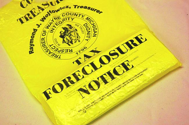 مقاطعة وين تعلّق مصادرة المنازل  هذا العام .. بسبب كورونا