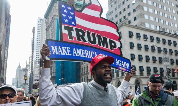 حملة ترامب تفتتح مركزاً انتخابياً في ديترويت لجذب الناخبين السود