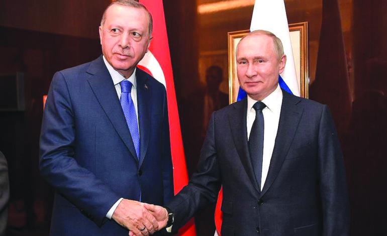 قمة بوتين–أردوغان: احتواء للتصعيد التركي–السوري بعد مواجهات دامية في إدلب
