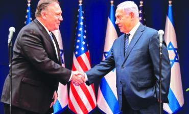 بومبيو يحطّ في إسرائيل: ضم الضفة مؤجل .. والأولوية للملف الإيراني والتمدّد الصيني