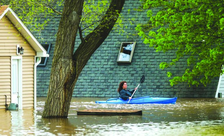 الأمطار الغزيرة تسبب فيضانات كارثية في وسط ميشيغن  .. وبقية أنحاء الولاية ليست بمنأى عن الخطر