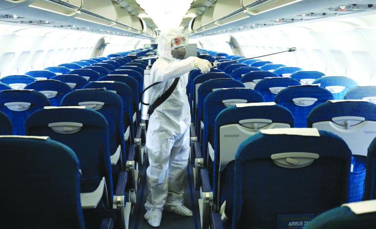 حركة النقل الجوي لن تعود إلى طبيعتها قريباً