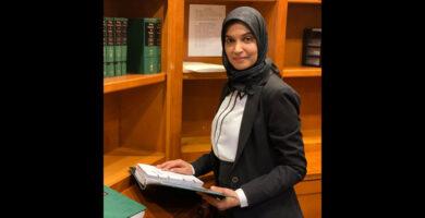 سايما خليل .. محامية مسلمة تترشح لمنصب المدعي العام في مقاطعة ماكومب